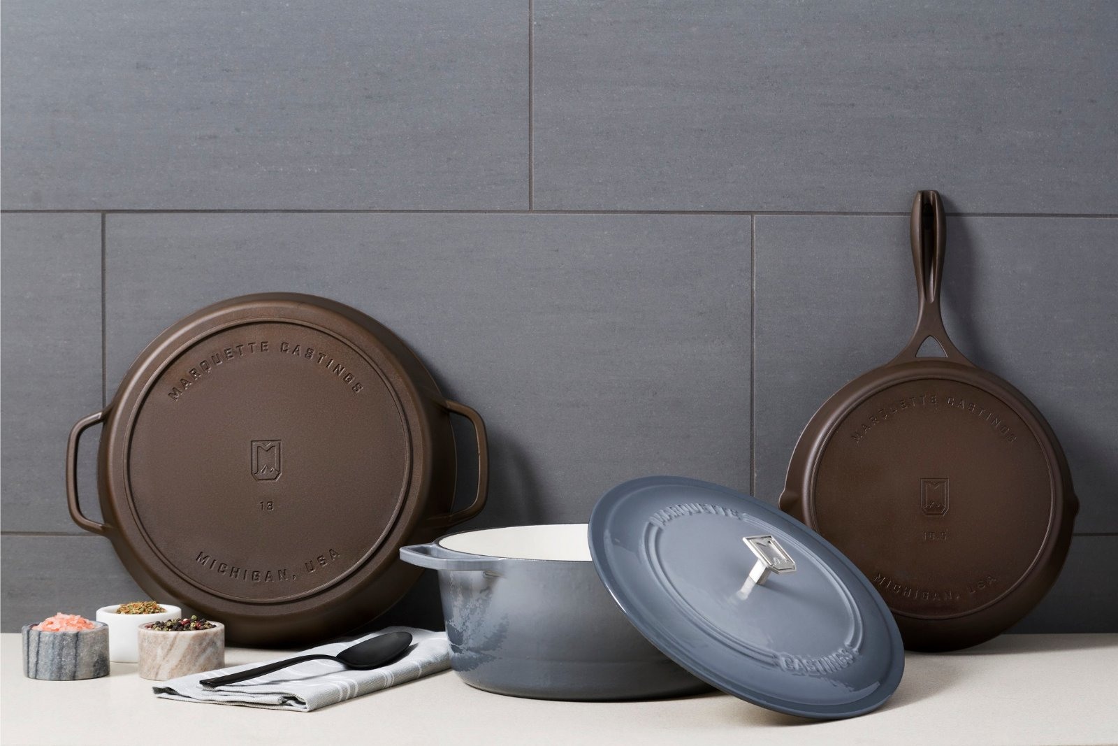 Marquette Castings | Quality Cast Iron Cookware