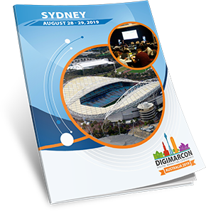 Brochure: DigiMarCon Australia 2019 · ANZ Stadium, Sydney · Aug 28 - 29,  2019 · Digital Marketing Conference & Exhibition