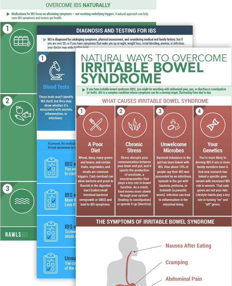 Irritable Bowel Syndrome: Natural Remedies That Work – RawlsMD